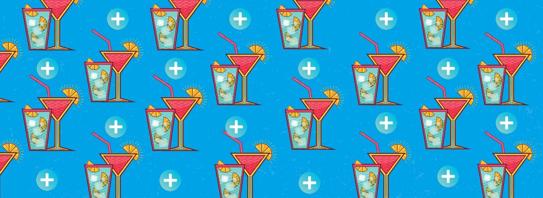 Drink pour célébrer l'été