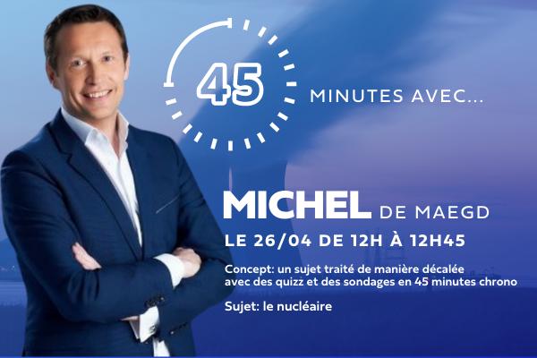 45′ avec Michel